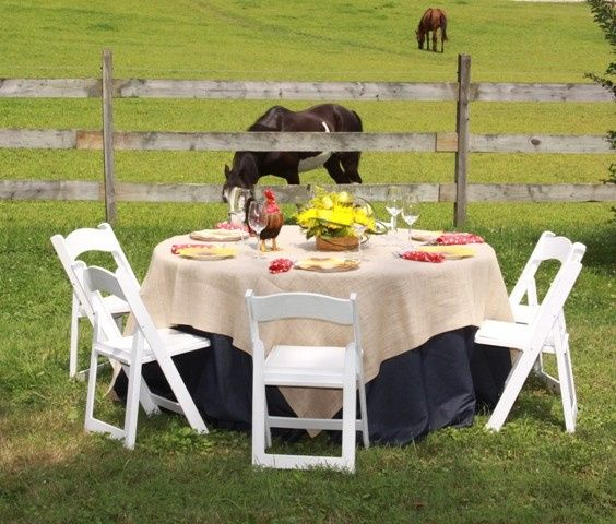 Tmx Denim With Burlap Overlay Bandana Napkins 51 76698 1569427943 Medford, NY wedding rental