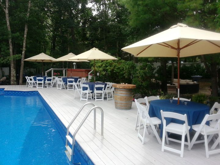 Tmx Umbrella Tan With White Resinchairs Copy 51 76698 1569428516 Medford, NY wedding rental