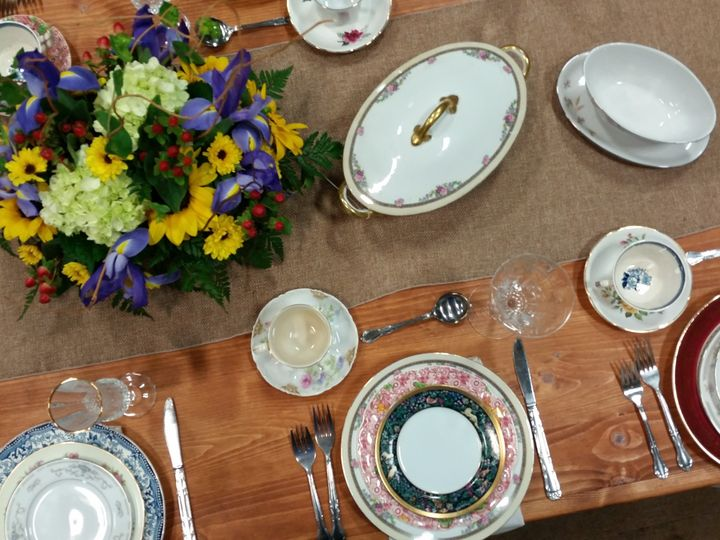 Tmx Vintage China On Farm Table 51 76698 1569428540 Medford, NY wedding rental
