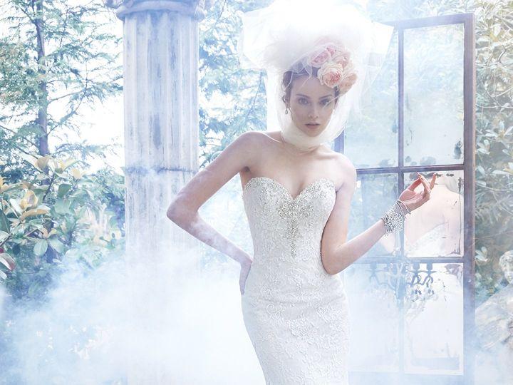 Tmx 1444240497900 5ms697front Pleasanton wedding dress