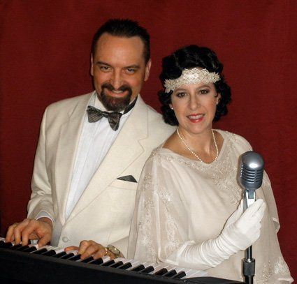 Vocalist Diane Martinson & Pianist JJ Saecker perform Jazz Age 1920's & 30s Gatsby style music for...