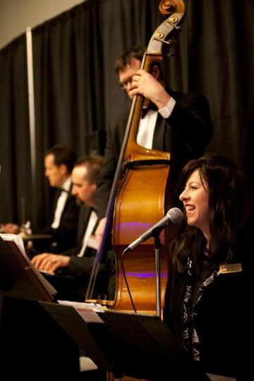 Singer Diane Martinson with her Jazz Quartet. Reception Dinner & Dance