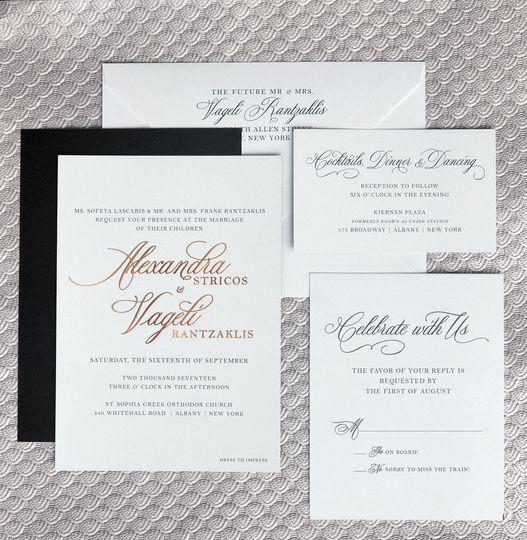 Pretty Polite Print Boutique - Invitations - Albany, NY - WeddingWire