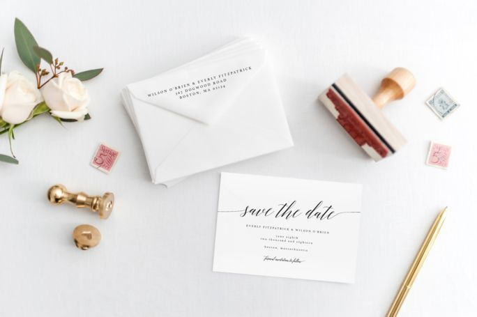 Love Letter Save the Date