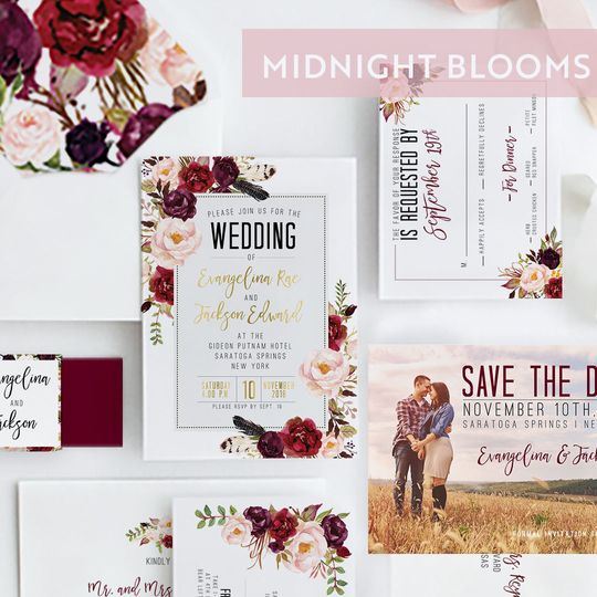 Midnight blooms suite