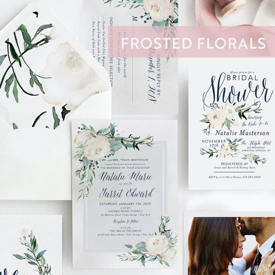 Frosted Florals Suite