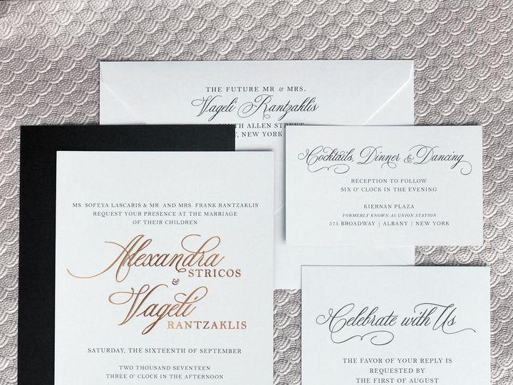 Tmx 1506519089454 Preview Lightbox Alexmockup Albany, NY wedding invitation