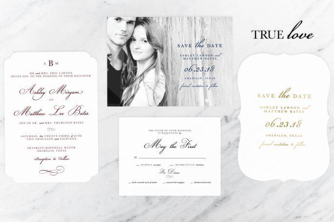 Tmx 1515679957 552967d4a9de71e8 1515679956 Acd503a2883c83aa 1515679956765 3 Preview Full Tru L Albany, NY wedding invitation