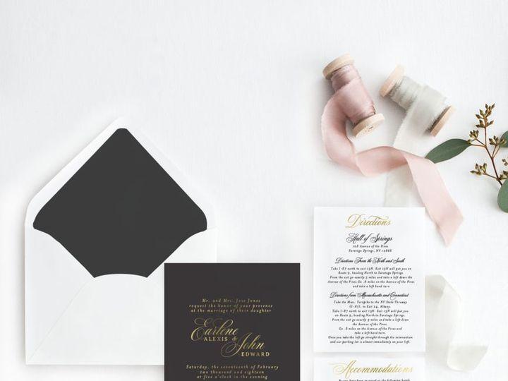 Tmx 1518206344 E760294eeddf8047 1518206343 796835cd60e832c1 1518206343280 1 Preview Lightbox E Albany, NY wedding invitation
