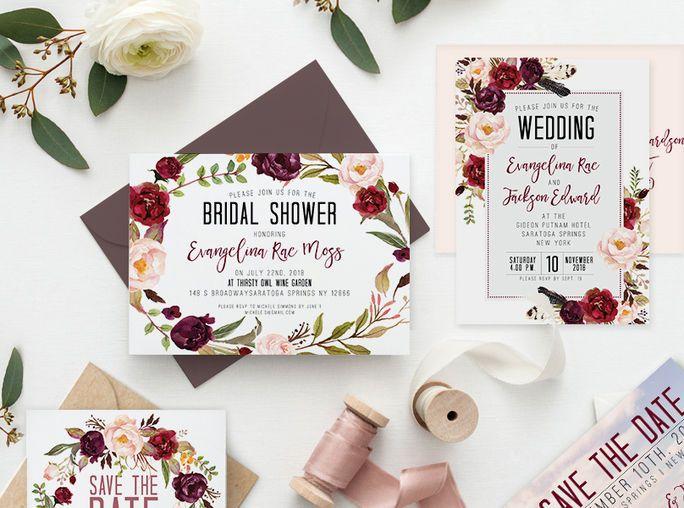 Tmx 1521552425 C3f1abab9dd5f914 1521552424 398110c00ab5c80f 1521552425110 1 Preview Full Midni Albany, NY wedding invitation