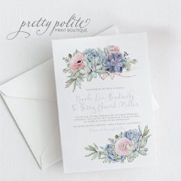 Tmx 1528318882 1aecad6c52287074 WeddingWireProfile Albany, NY wedding invitation