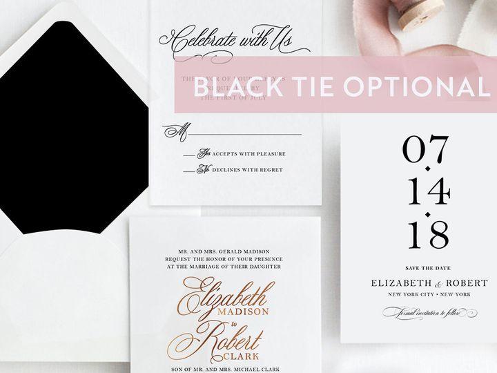 Tmx 1538509006 03da17f0e2f04a22 1538509005 0859332d25627ac1 1538509000812 2 Style BTO Albany, NY wedding invitation