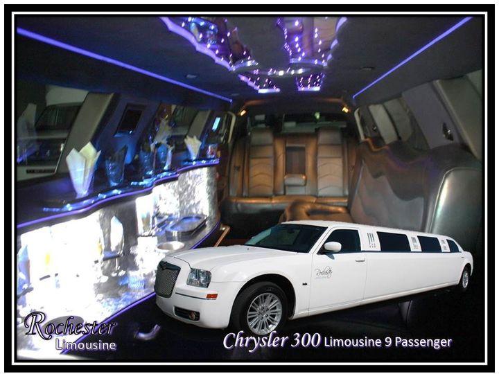 Chrysler 300 Limousine 9 Passengers Changing Fiber Optic Mood Lighting Cd Player/DVD Player IPod...