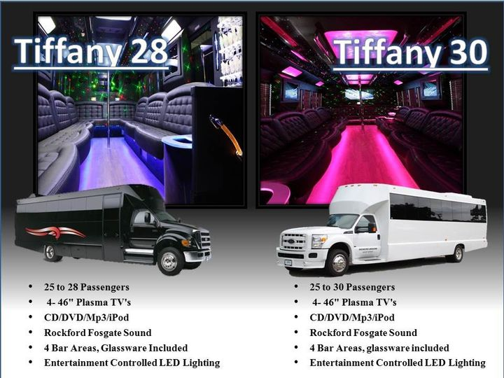 Rochester Limousine LLC Features 2014/2015 Brand Spanking New Limousines and Party Buses...