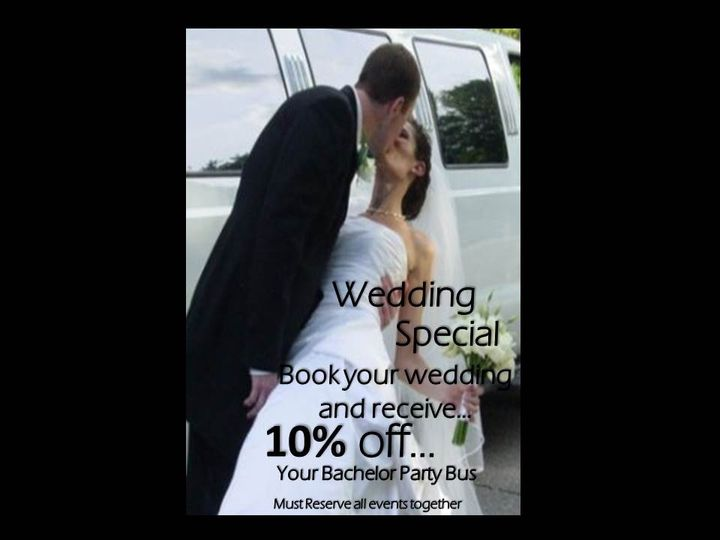 Tmx 1391041529760 Wedding 10 Of Pontiac wedding transportation