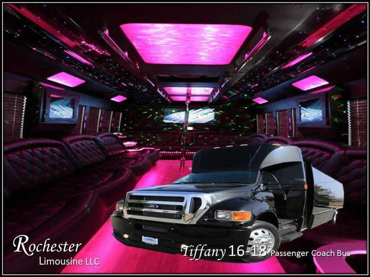 Tmx 1426724758380 Metro Detroit Party Bus 16 Passenger Pontiac wedding transportation
