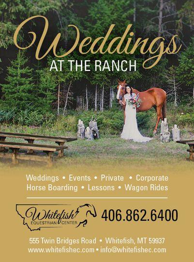 my montana wedding ad