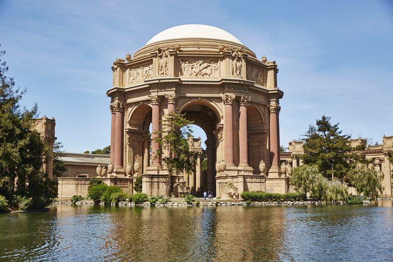 Palace Of Fine Arts San Francisco Wedding