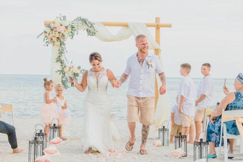 Smathers beach wedding
