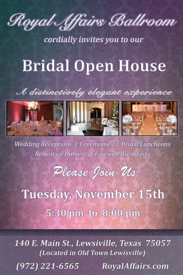 Royal Affairs Ballroom Venue Lewisville Tx Weddingwire