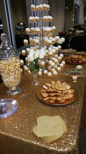 Chef Schonberg's Sweets dessert table