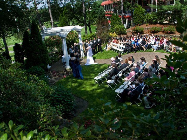 Tmx 1362416349608 Ceremonyhilltopview Andover wedding venue