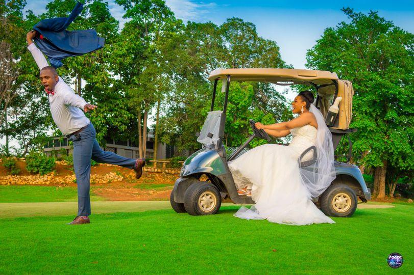 Golf course fun