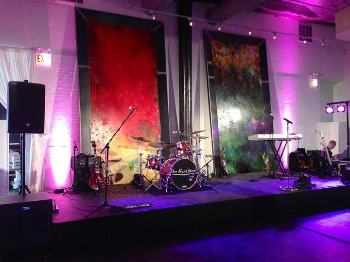Band instruments setup
