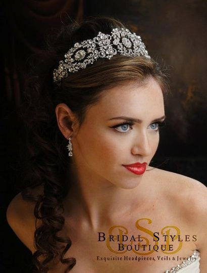 bridal headpiece by Bridal Styles Boutique