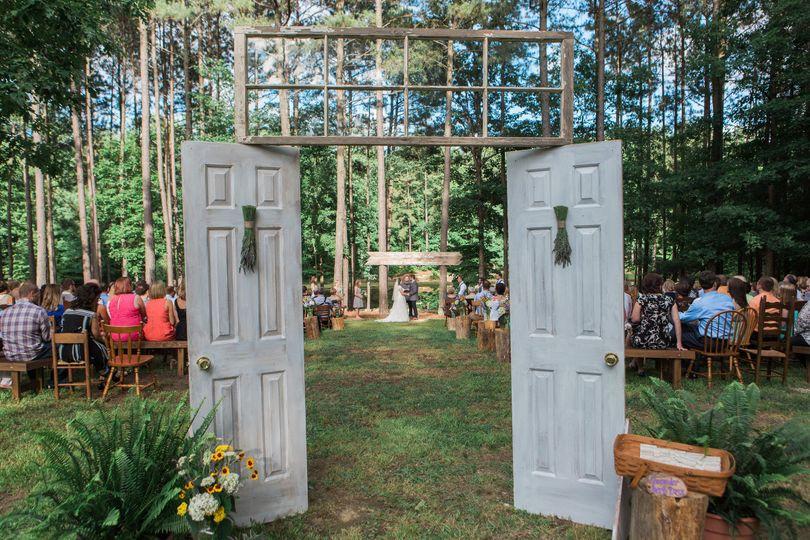 Doors with transom window
