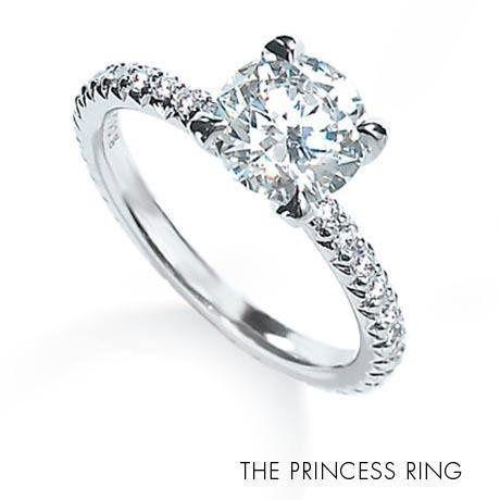 Michael B Princess Ring