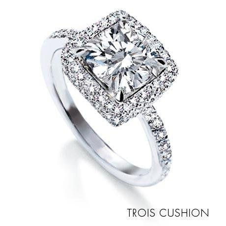 Michael B. Trois Cushion Ring