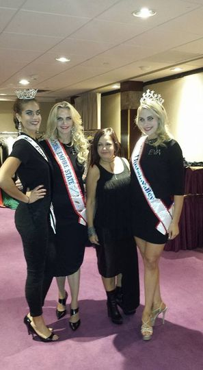 Some of Eva Pageant Queens Miss. Long Island Mrs. Empire Sate Miss. Hudson Valley