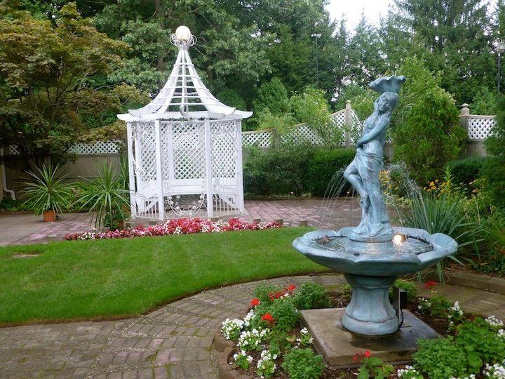 The Crystal Room garden
