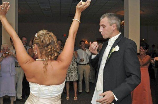 Tmx 1256155047280 ChristinMattCake Havertown, Pennsylvania wedding dj