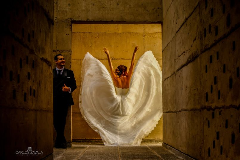 Bride wings