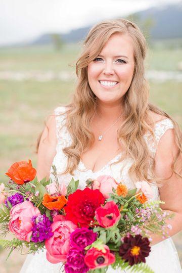 Gorgeous bridal portrait