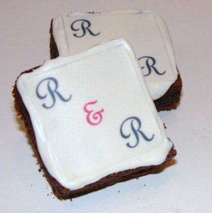 Remember your special day by putting your initials or monogram on a Treats