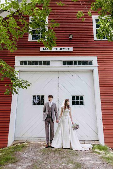 Hollis barn wedding