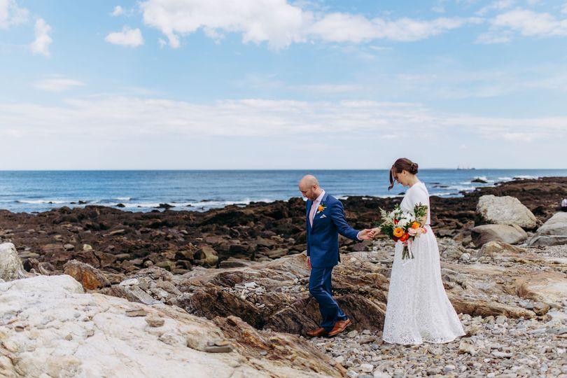 Odiorne Pt. State Park wedding