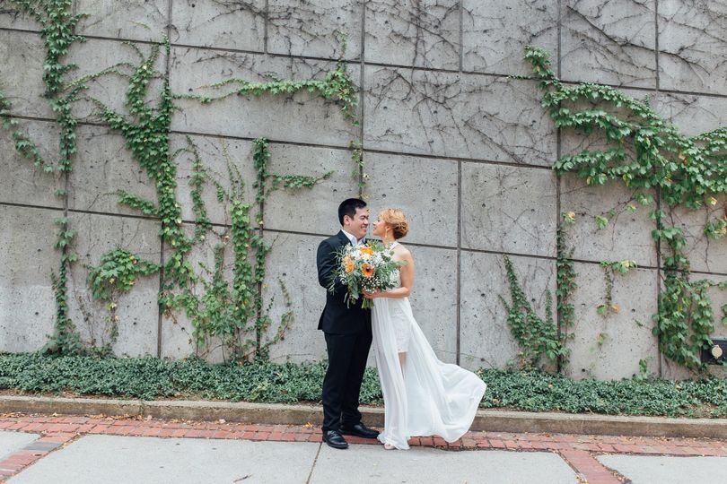 Urban City Hall Elopement in Manchester, New Hampshire