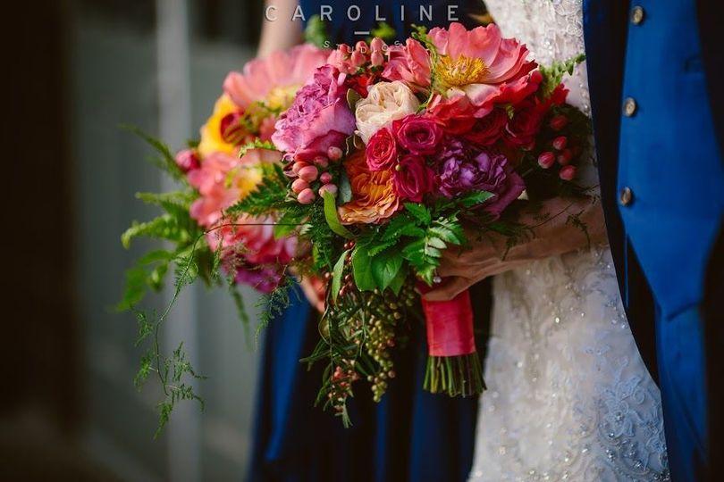 Colorful bouquets
