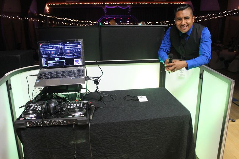 Dj besides the turning table