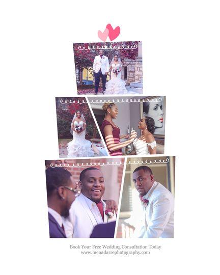 Wedding Day Collage
