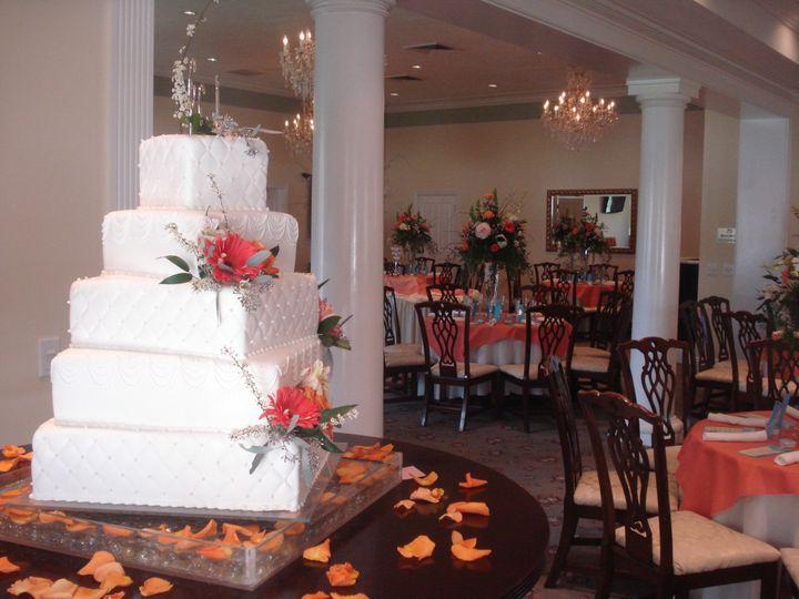 5 layer wedding cake