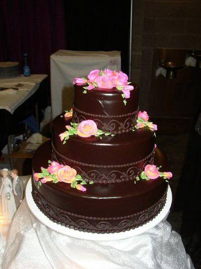 helen bernhard bakery wedding cake portland or weddingwire. Black Bedroom Furniture Sets. Home Design Ideas