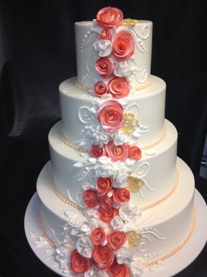 Artistic cake display