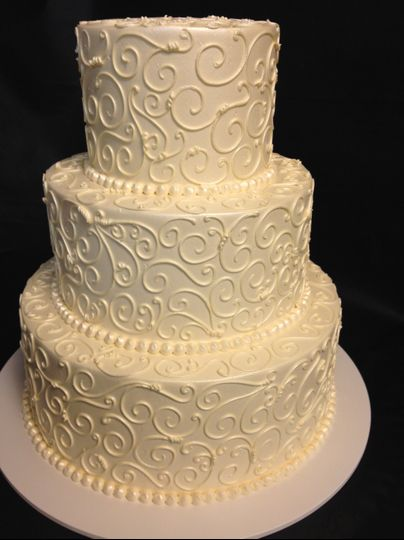 Patterned icing