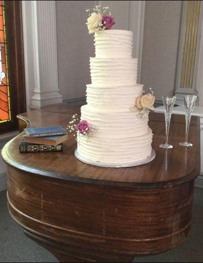 wedding cake may