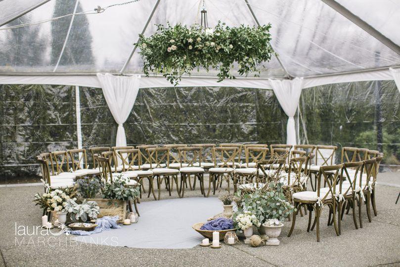 Circular event setup